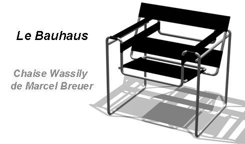 Bauhaus Chaise Wassily de Marcel Breuer