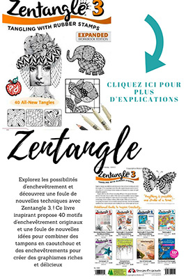 zentangle instruction livre etape par etape