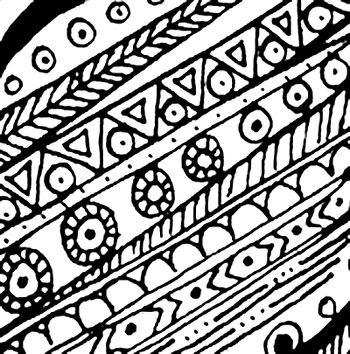 Comment faire un zentangle