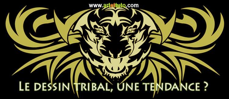 Dessin tribal définition